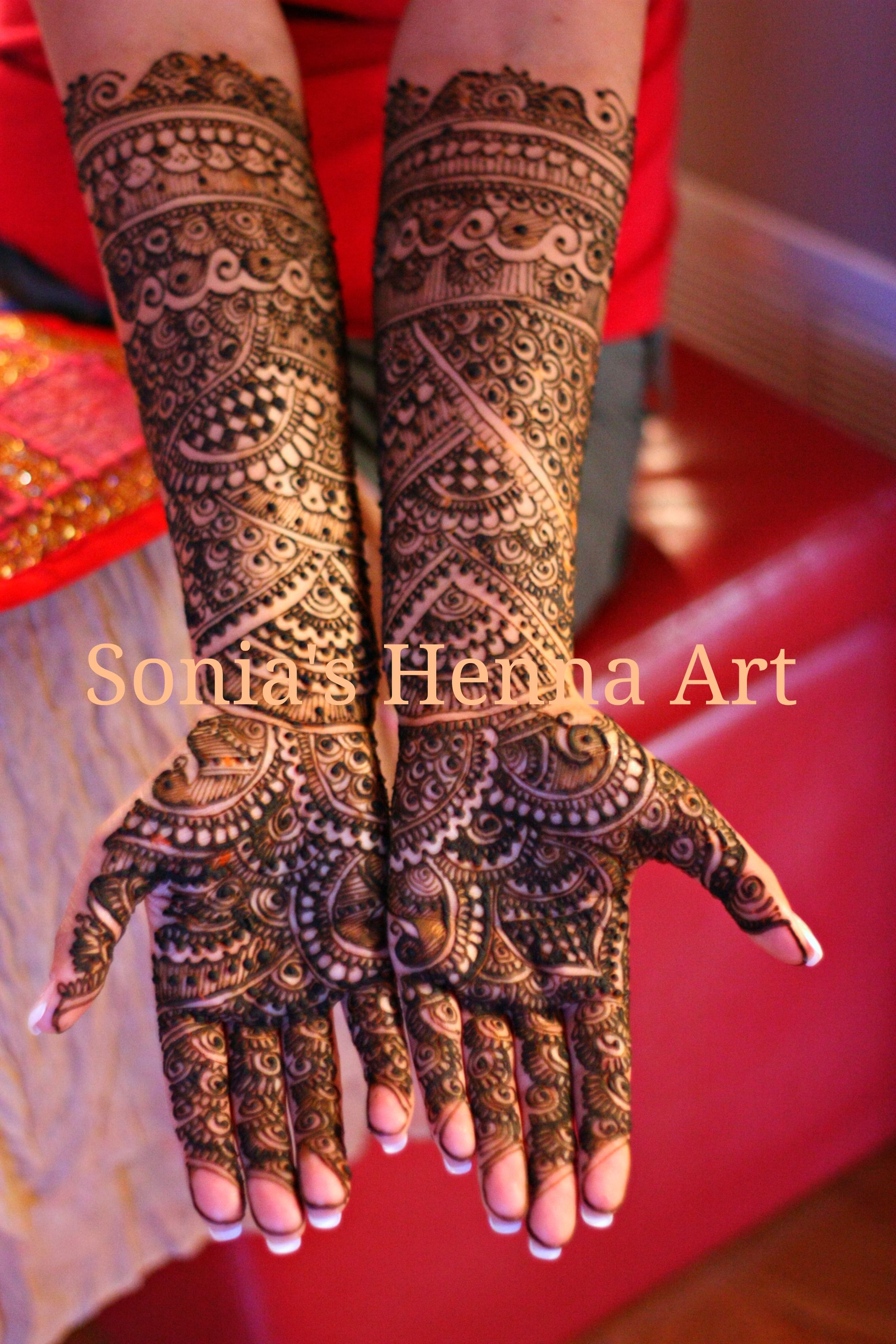 Intricate Mehndi Patterns : Very intricate bridal mehndi henna