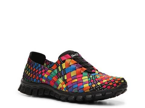 Skechers Ez Flex 2 Tah Dah Slip On Sneaker Womens Dsw