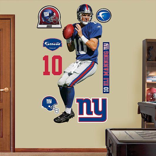 Eli Manning, New York Giants | BOYS ROOM | Pinterest