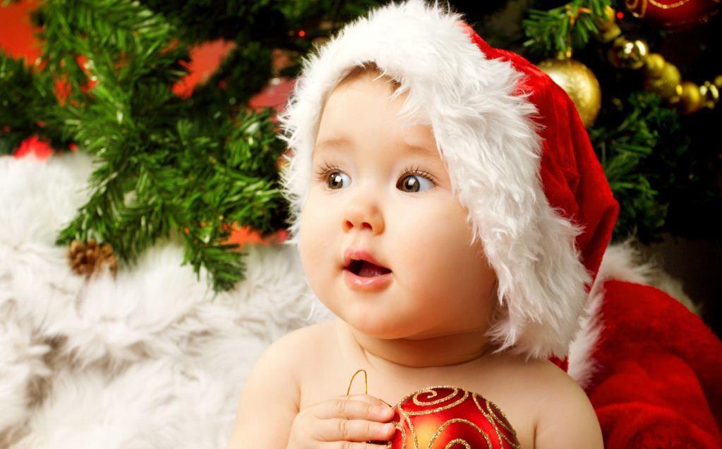 amazing cute adorable baby santa http www inihdwallpaper com