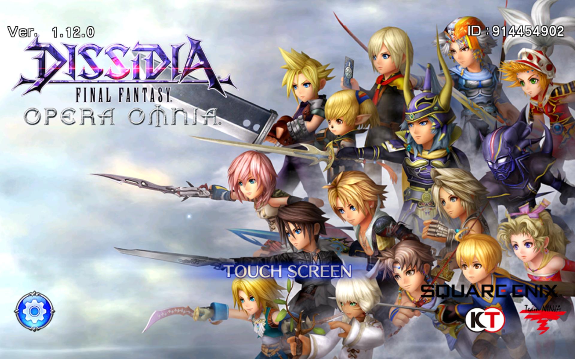 Dffoo Home Screen In 2020 Final Fantasy Fantasy Games