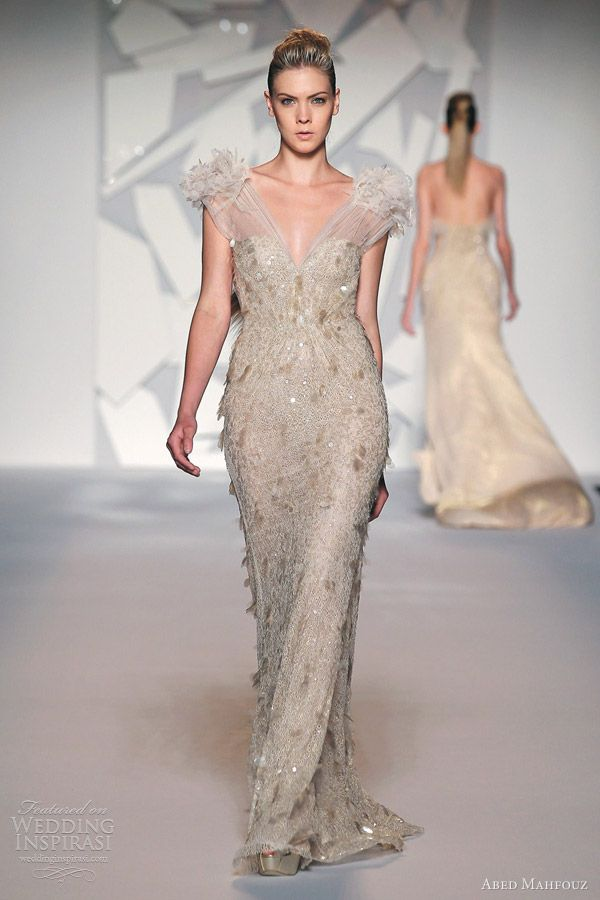 Abed Mahfouz Fall 2012 Couture