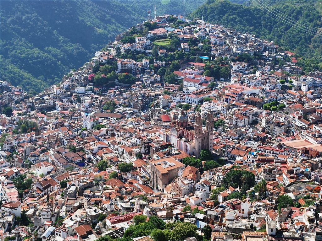 Taxco Mexico Silver Capitol Of Mexico Mexico Travel Aerial View City