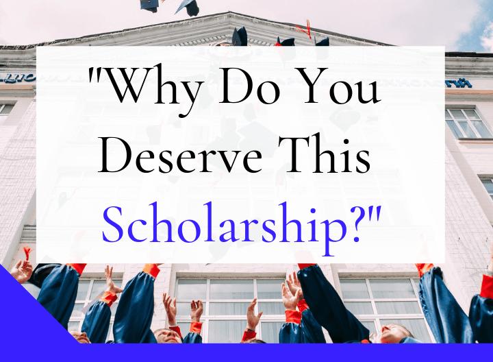 Why Do You Deserve Thi Scholarship Essay Example Rafal Reyzer Scholarships I A Examples