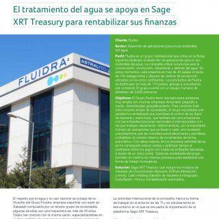 El tratamiento del agua se apoya en Sage XRT Treasury para rentabilizar sus finanzas Cliente: Fluidra. Sector: Desarrollo de aplicaciones para el uso sosten. http://slidehot.com/resources/fluidra-centraliza-su-tesoreria-con-sage-xrt-treasury.19038/