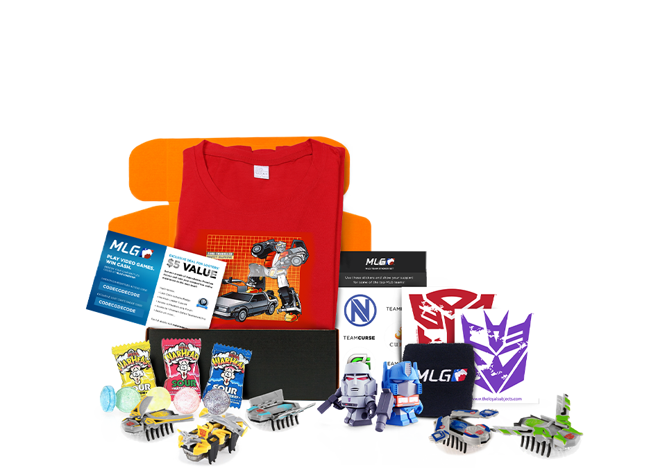 Loot Crate Monthly Geek and Gamer Subscription Box