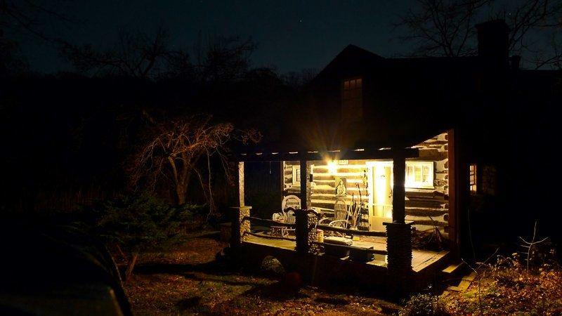 Cabin In The Night Google Search Cabin Journey Lynn