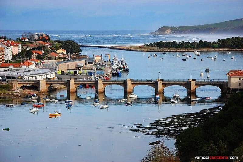 San Vicente De La Barquera Cantabria Spain Viajar Por España Paraje Natural Paisajes