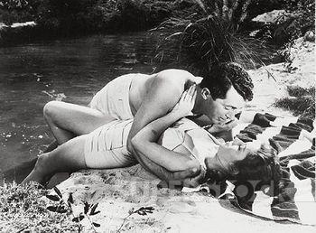HOLLYWOOD OR BUST (1956) - Dean Martin & Pat Crowley - Directed by Frank Tashlin - Paramount - Publicity Still.