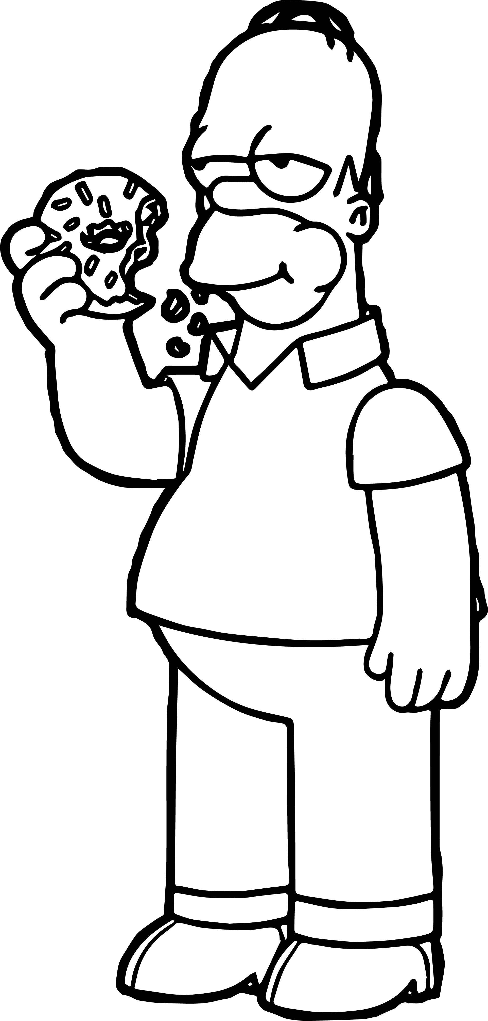 homer coloring pages - photo#2