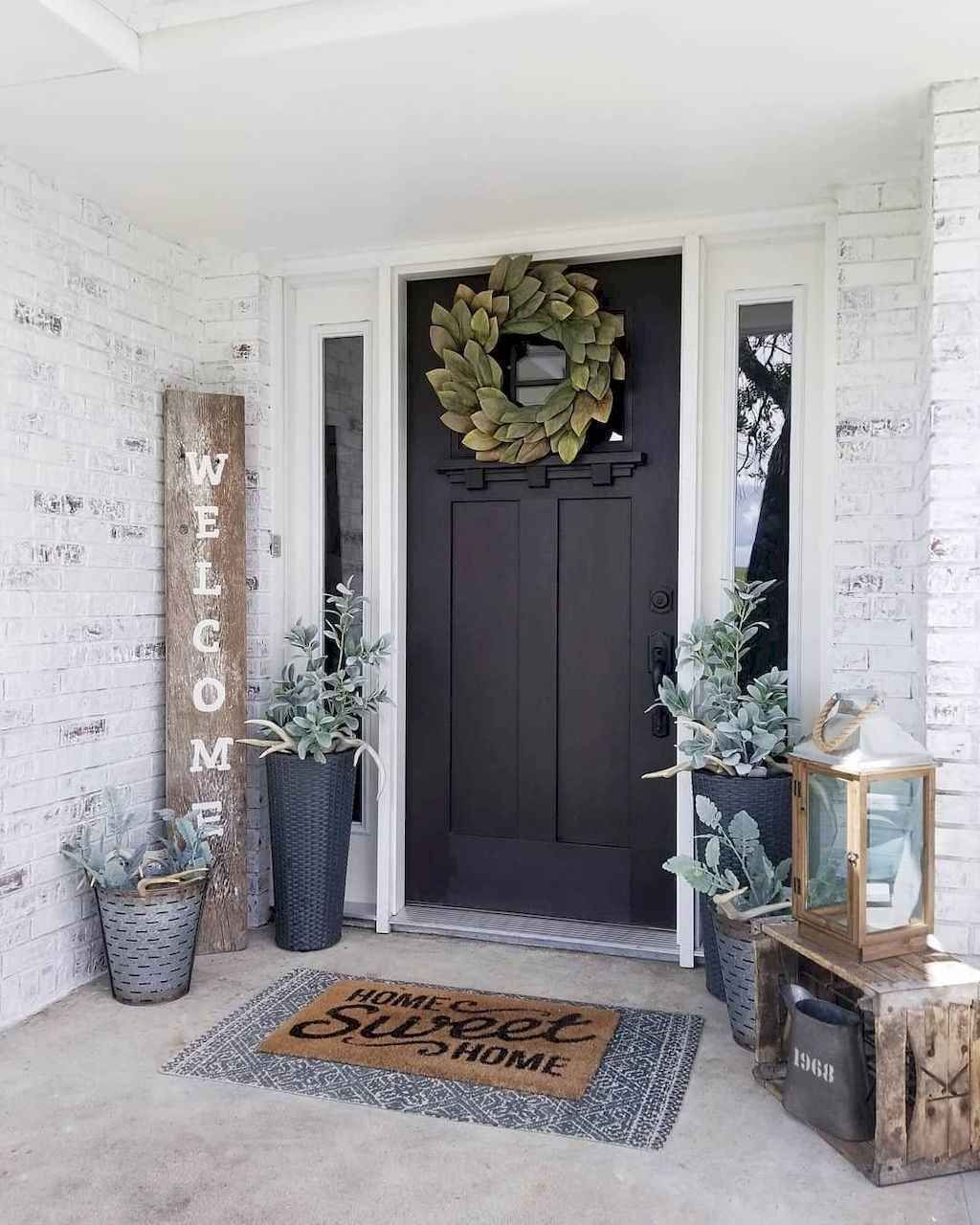53 Beautiful Spring Decorating Ideas For Front Porch In