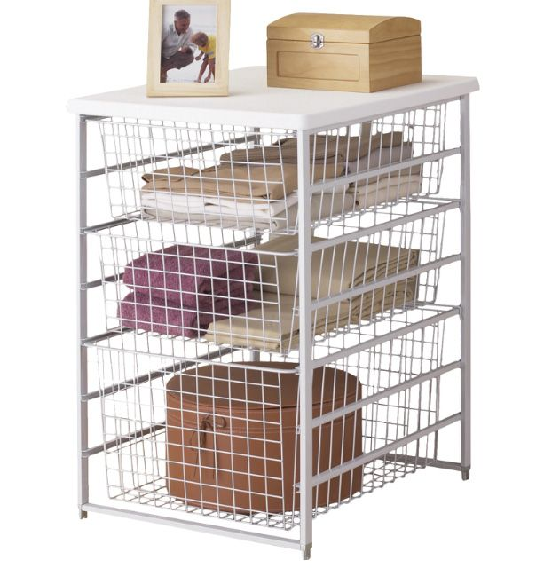 Wire Basket Systems From ClosetMaid. Drawers Available In Different Depths  To Suit The Needs Of Your Storage.