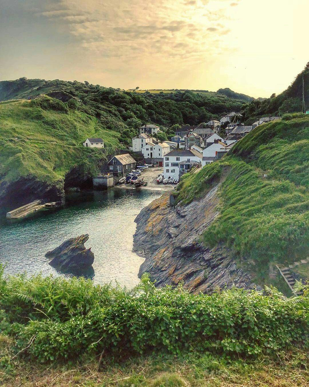 Portloe Cornwall Roseland Peninsula Cornwall England Irish Countryside