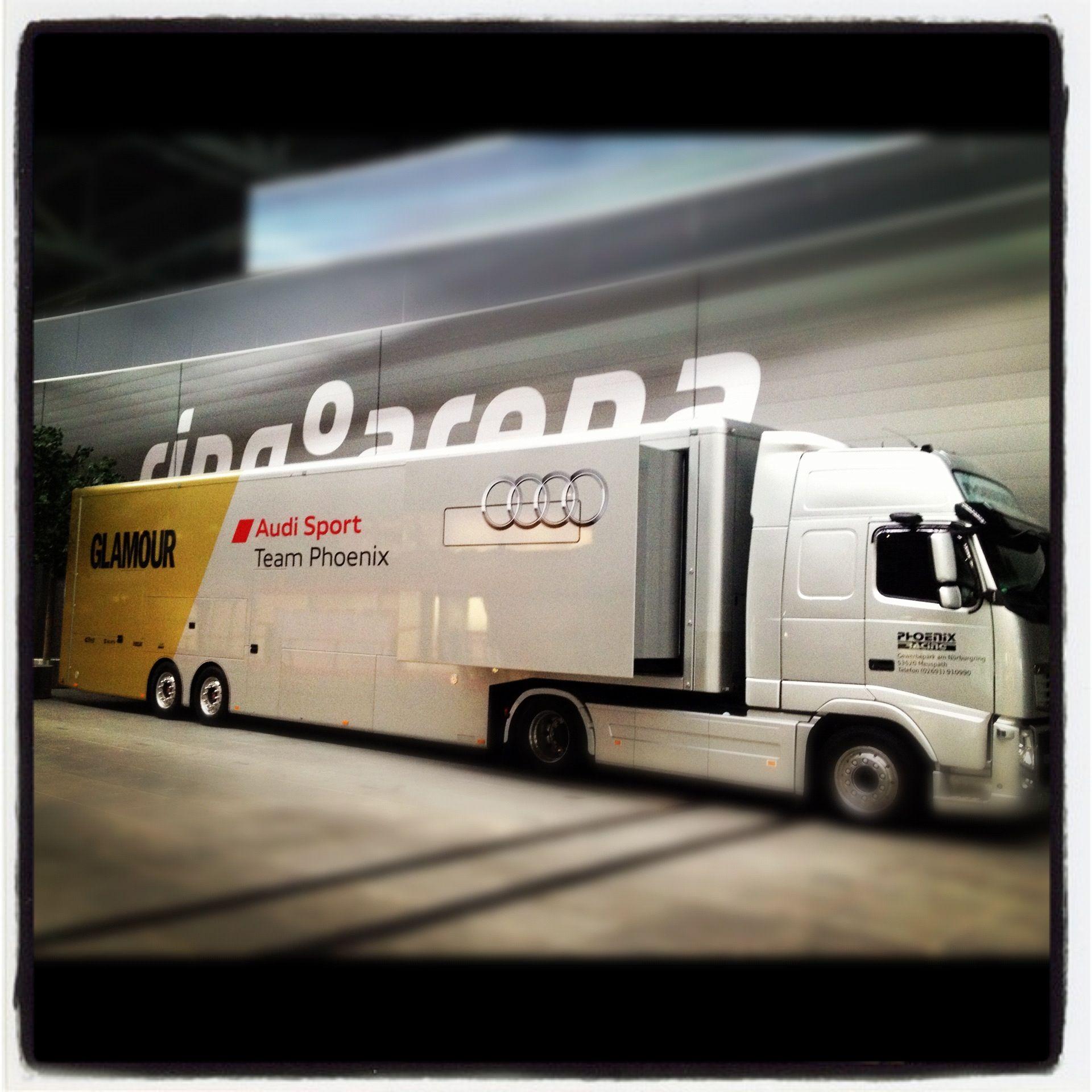 Audi Team Phoenix Transporter @ Nurburgring