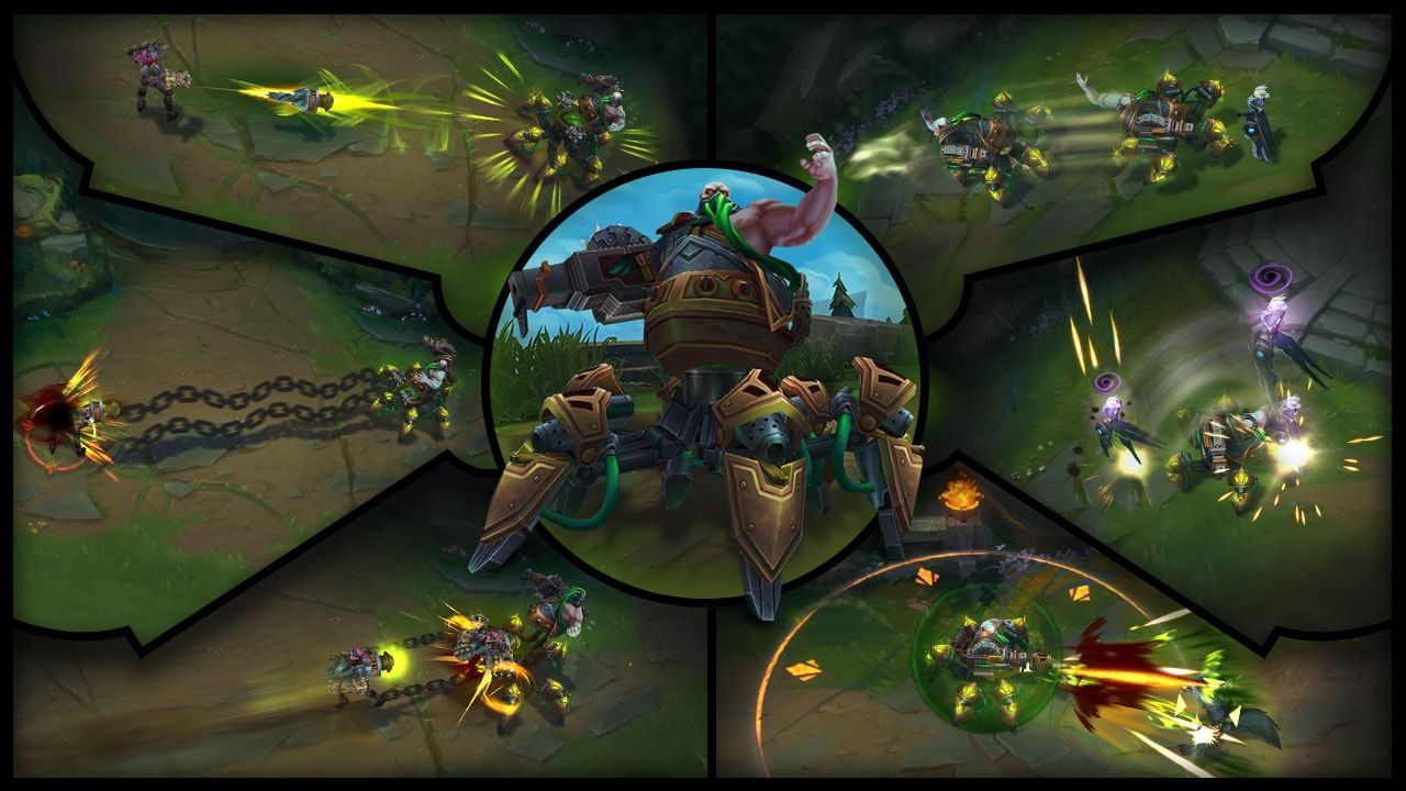 League Of Legends Champion Reveal Urgot The Dreadnought Mmo