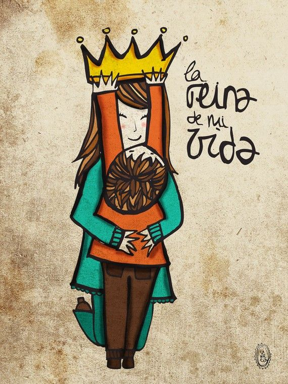 Mother S Day La Reina De Mi Vida The Queen Of My Life Happy