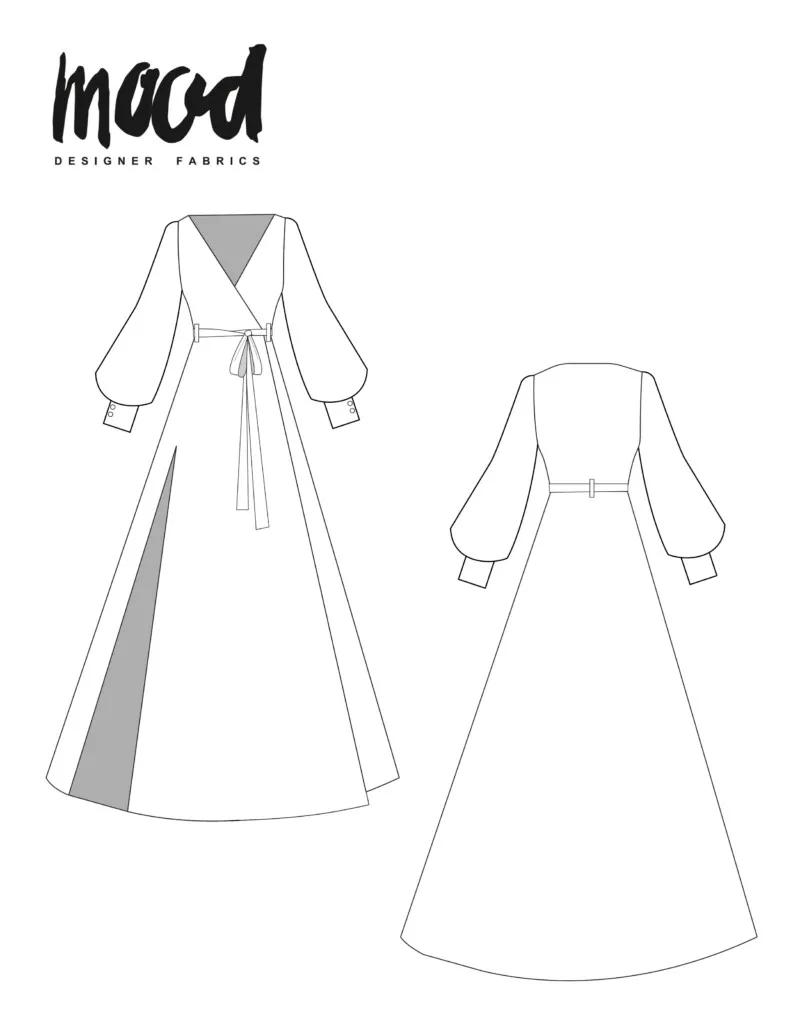 Photo of The Rue Dress – Free Sewing Pattern – Mood Sewciety