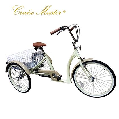 """20/"""" Tricycle Trike 2 Rear 1 Front Bicycle Bike Fender California Chrome"""