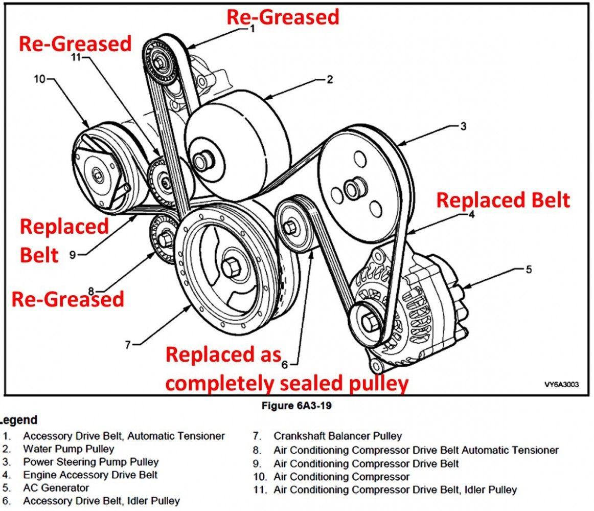 Vt Engine Belt Diagram