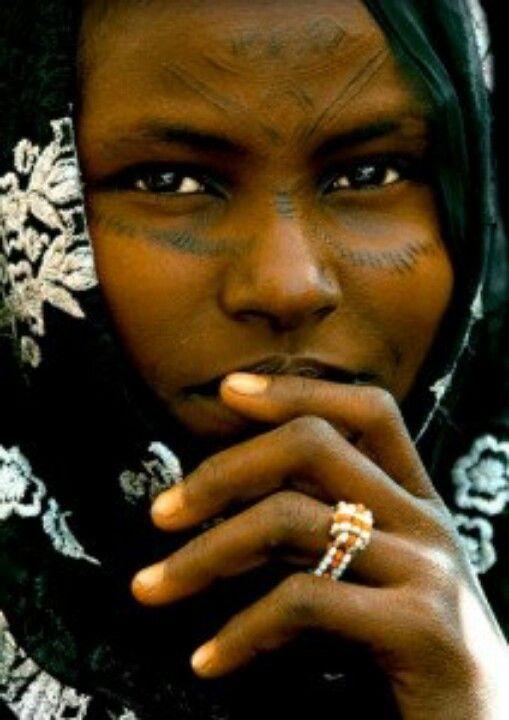Bedoin woman north Africa