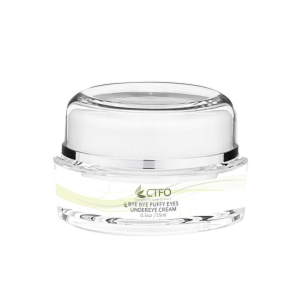 Bye Bye Puffy Eyes Under Eye Cream #CTFO #skincare