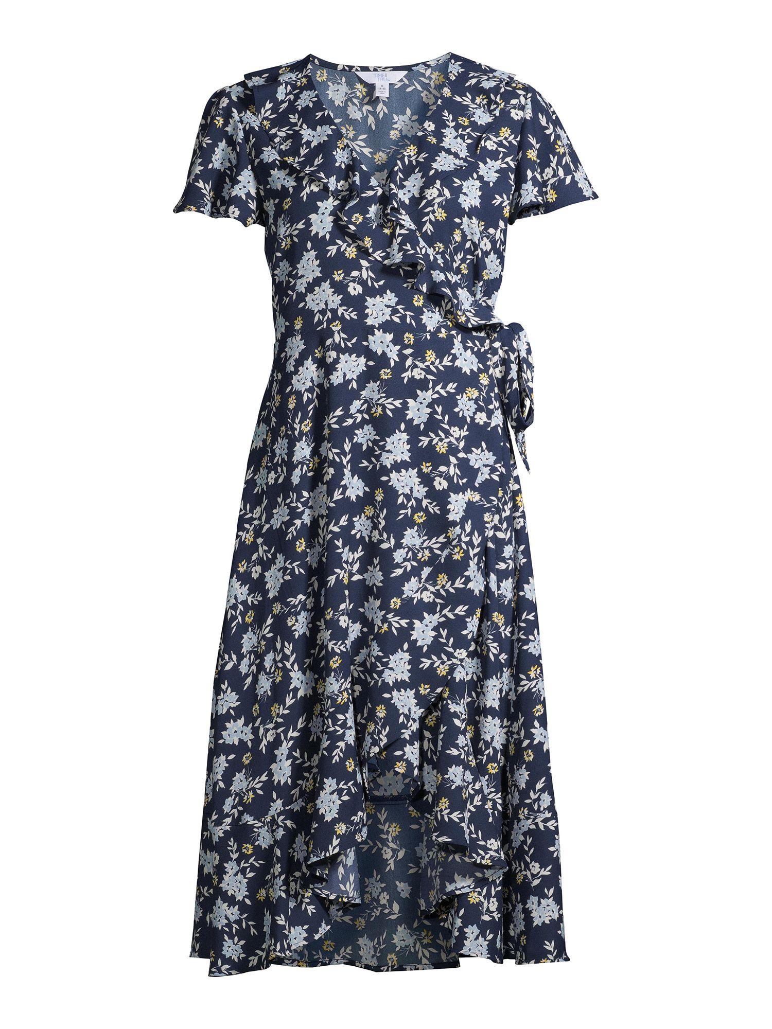 Time And Tru Women S Ruffle Midi Dress Ad Women Affiliate Tru Time Ruffle Midi Dress Midi Dress Dresses [ 2000 x 1500 Pixel ]