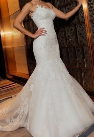 Luxurious Embroidered Mermaid Lace Wedding Gown #ShopSimple ...