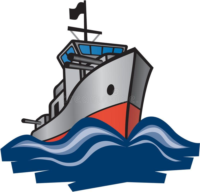 navy destroyer royalty free stock images image 18698939 rh pinterest com battleship clipart free battleship clipart free