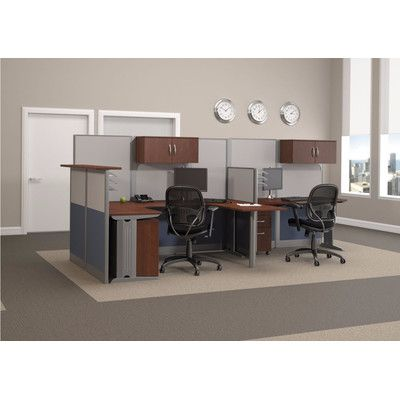 Bush Business Furniture Office In An Hour L Shape Desk
