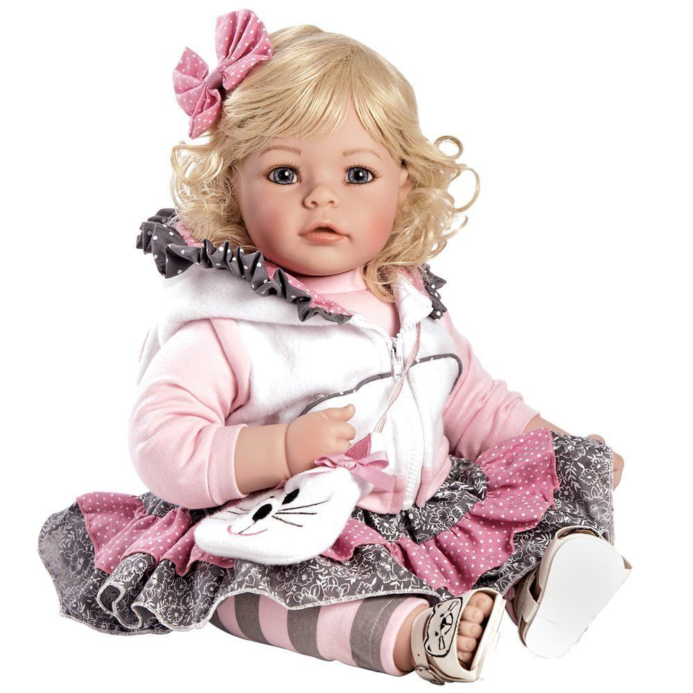 """Adora Toddler Cuddly & Weighted 20""""Play Doll-""""The Cat's Meow"""""""