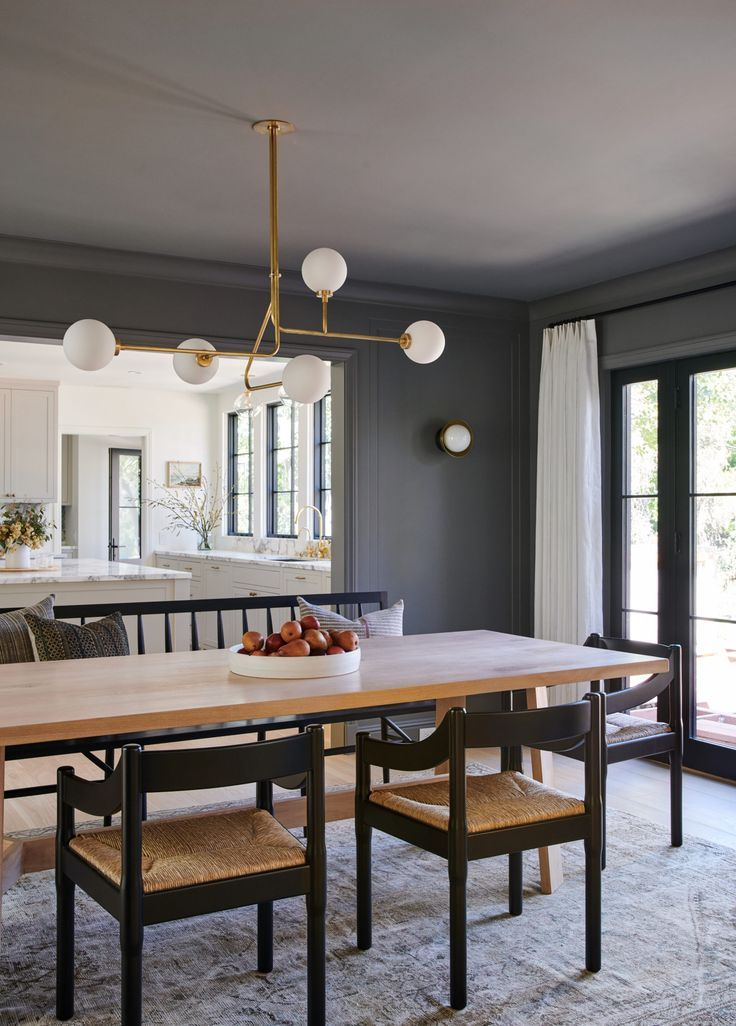 Best Client Canyon Cool Dining Room Wall Color Grey Dining 640 x 480