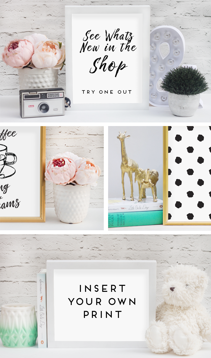 Try Your first Frame Mockup for Free. Empty Frame Mockups sell more ...