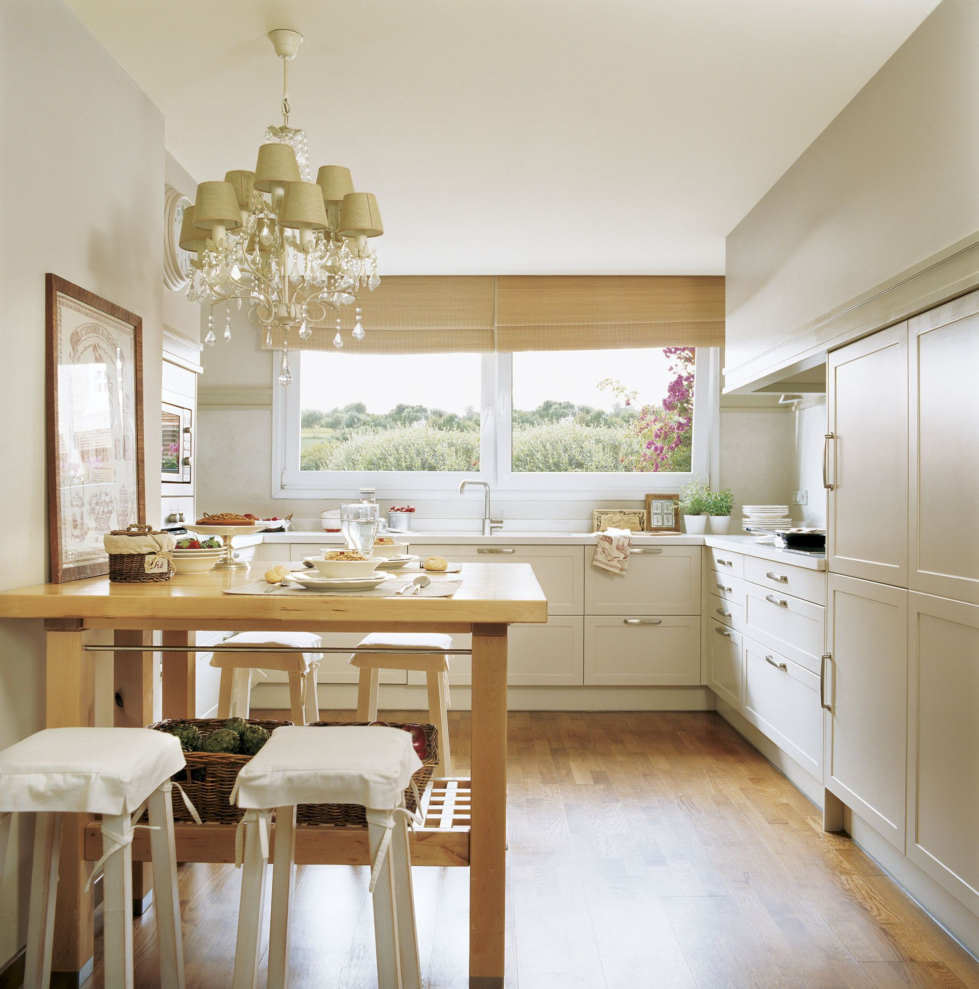 C mo tener un office en la cocina comer en la cocina - Mesas altas cocina ...