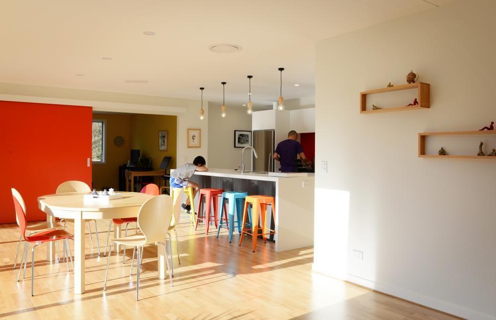 Open Plan Kitchen Dining Room Design Minimalist Open Plan Colour Alluring Open Plan Kitchen And Dining Room Designs Decorating Design