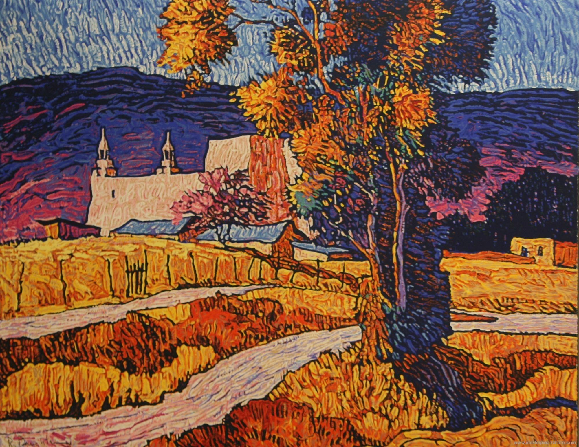 Robert Daughters - Las Trampas II | Art I Like: Landscapes ...