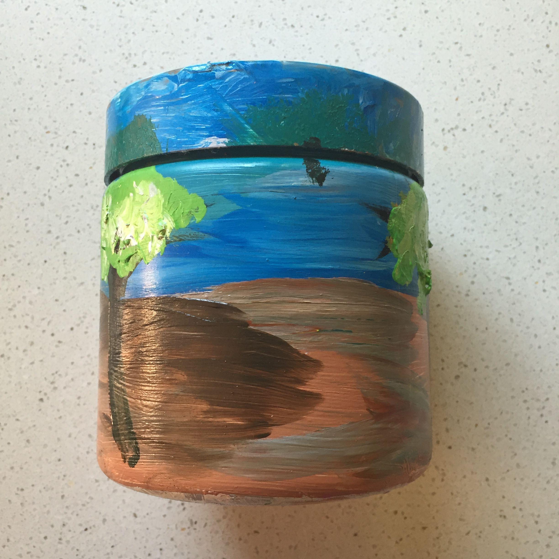 Lulu Smith Aboriginal homage 2015 HWPS Smart Art