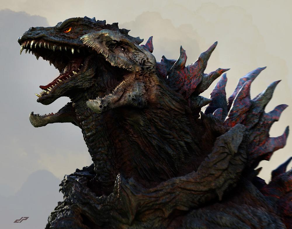 Pin On Godzilla Kaiju