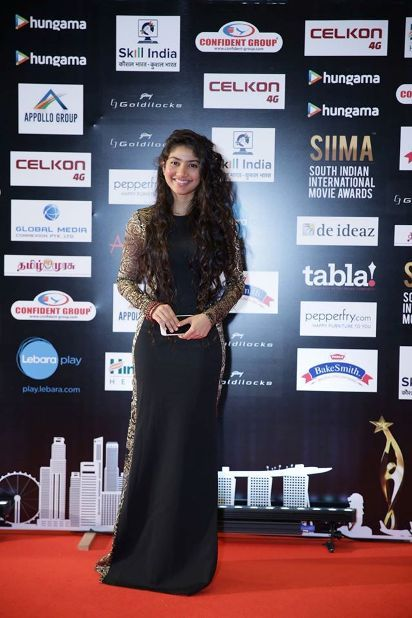 SaiPallavi at #SIIMA2016 Gallery #Cinebilla | SIIMA 2016