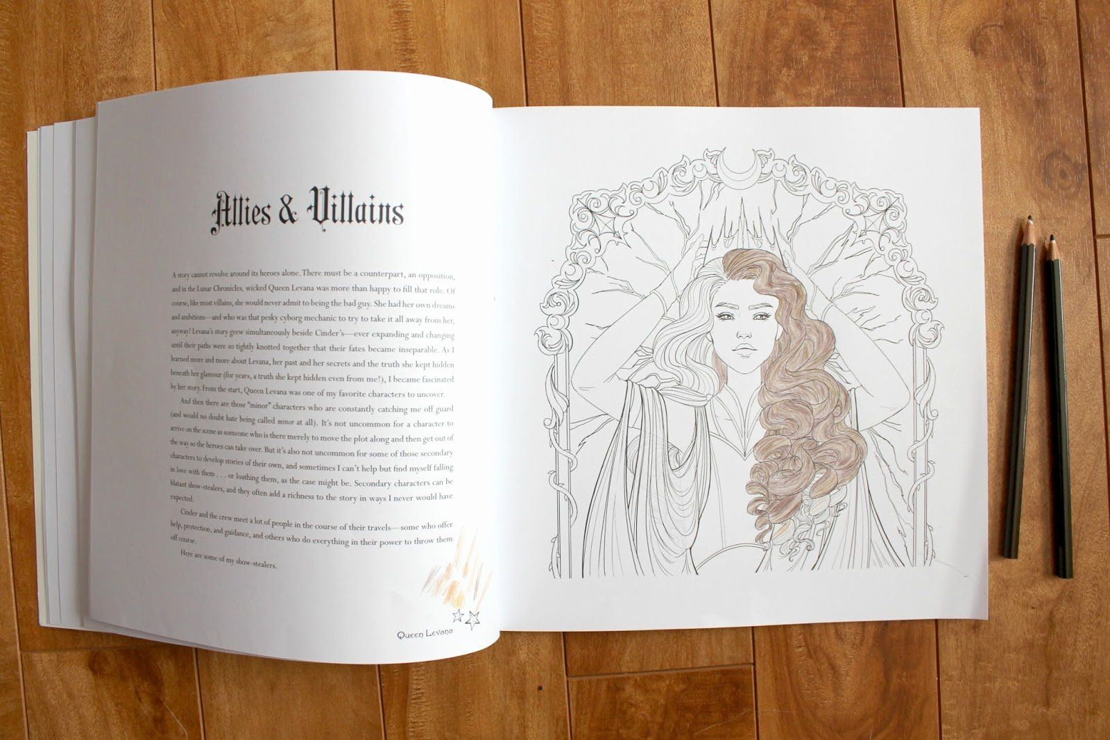 The Lunar Chronicles Coloring Book New The Lunar Chronicles Colouring Book Review Mermaid Coloring Book Cat Coloring Book Designs Coloring Books