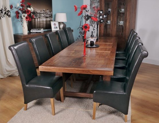 Extra Large Dining Table  Grand Marseille Walnut  Dining Room Inspiration Large Dining Room Sets Inspiration Design