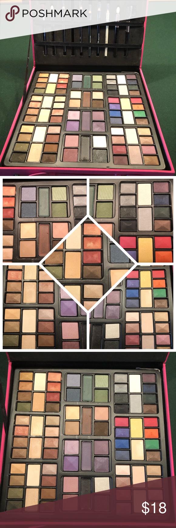 NWOT Ulta 80 Color Face & Eyes Makeup Box Eye makeup