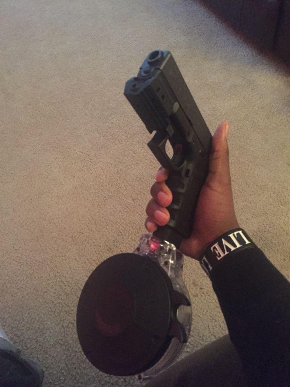 50 round magazine for glock 9mm