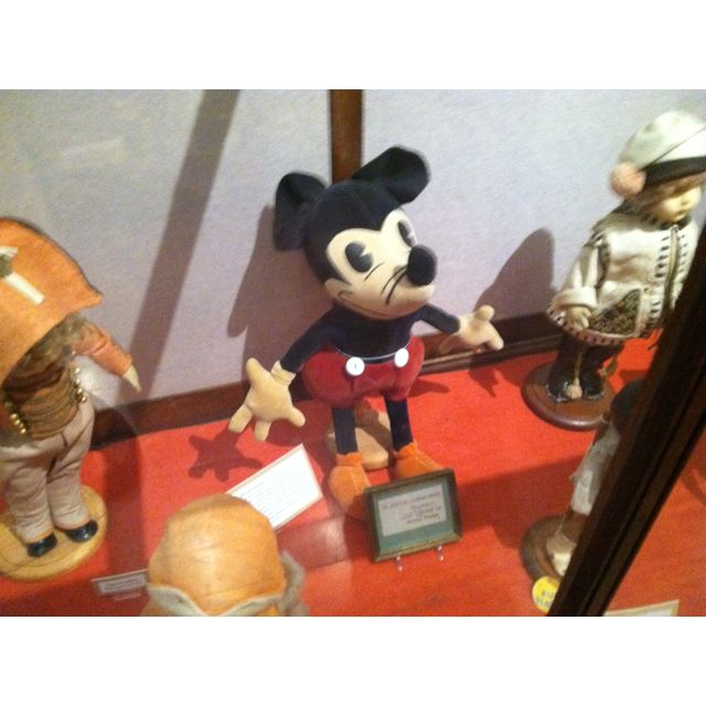 First Mickey Mouse in Denton