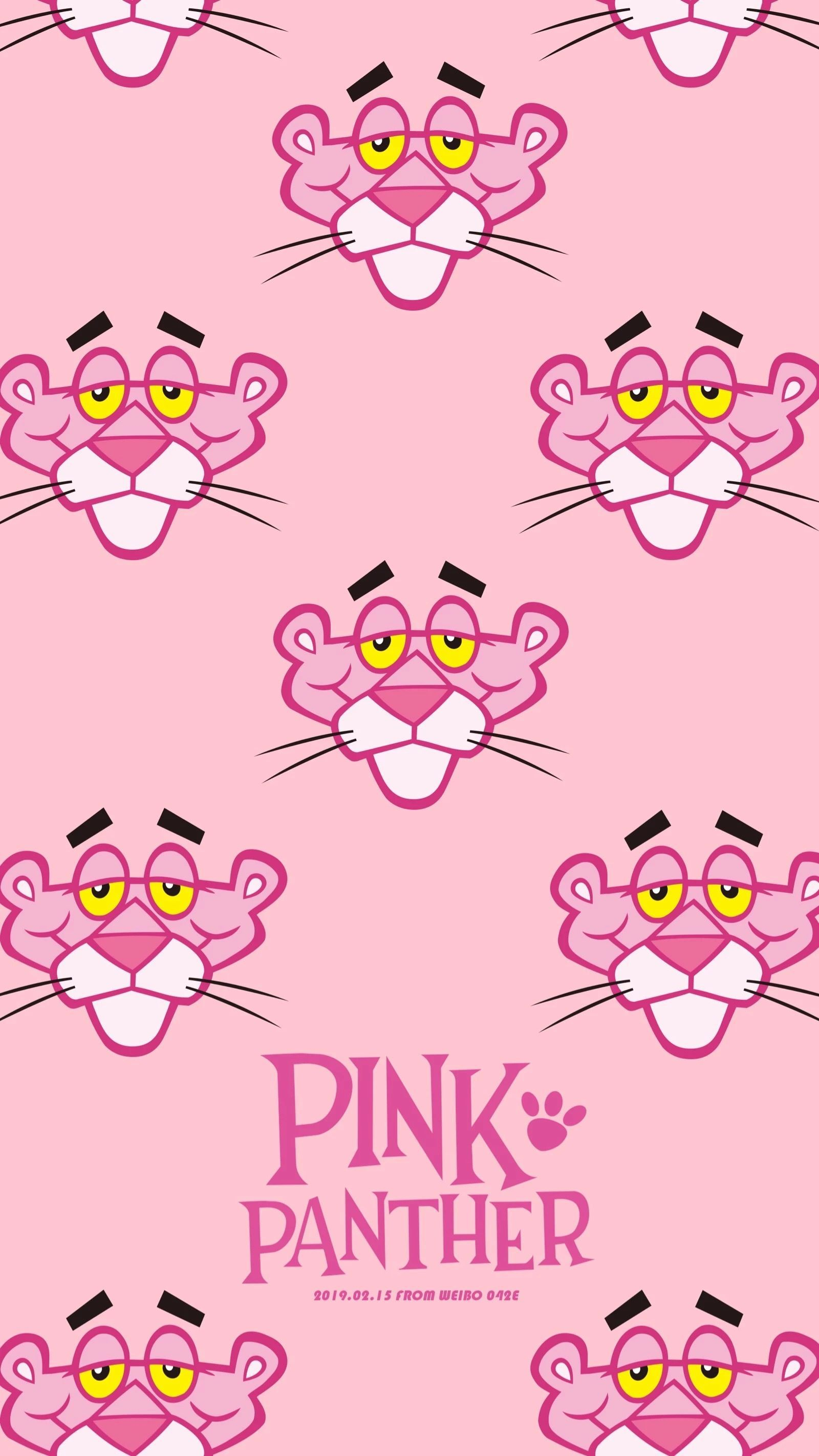 Think Pink Pink Panther Panther Think Pink Panther Cartoon Pink Panthers Pink Panter