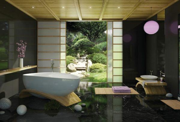 Modernes Badezimmer Ideen - wie Sie die Natur näher bringen können ...