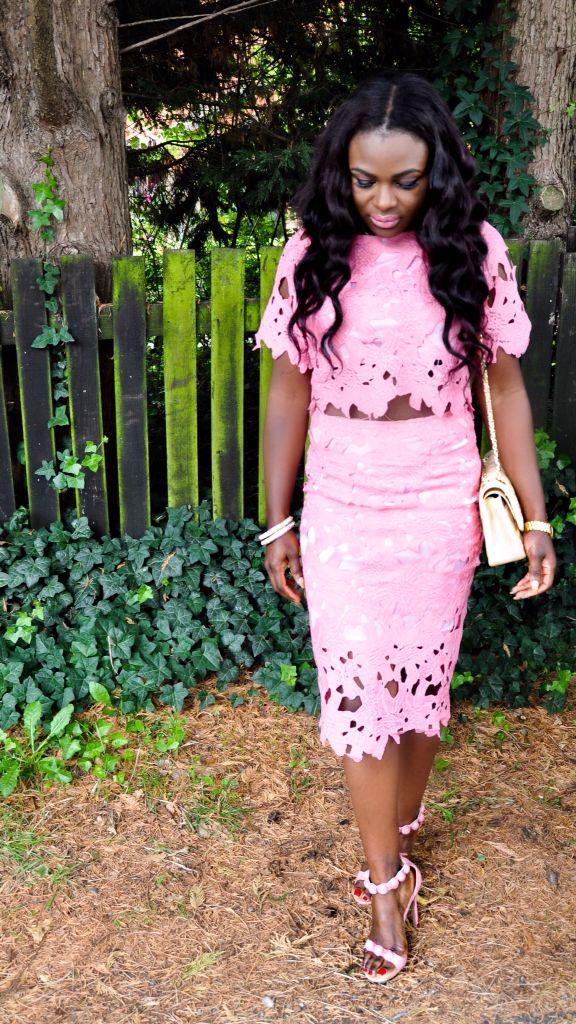 Pretty In Pink. My interview with fashion blogger Ivy Ekong ... http://bootsshoesandfashion.com/an-interview-with-fashion-blogger-ivy-ekong/