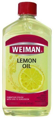 Weiman Lemon Oil With Sunscreen By Weiman Http Www