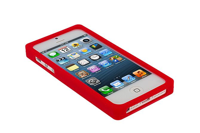 Cassette Tape Soft Silicone Rubber Protective Cases for iPhone 5s & iPhone 5 | Lagoo Tech