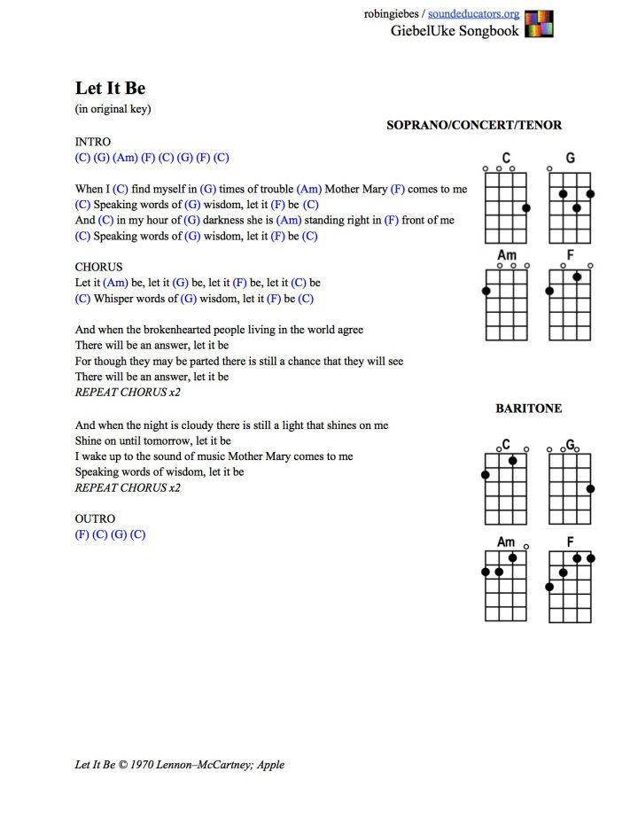 Let It Shine Guitar Chords Images - basic guitar chords finger placement