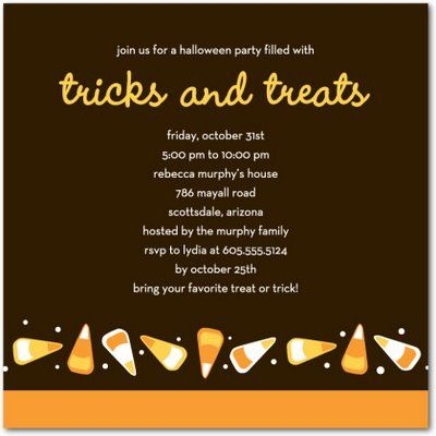 17 Best images about Halloween party invites – Halloween Party Invitation Card